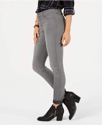 Style&Co. Style & Co Tummy-Panel Cuffed Skinny Jeans