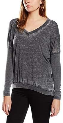 Red Soul Redsoul Women's FELIXIA Tshirt Plain Long Sleeve Jumper,(Manufacturer Size: XS)