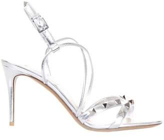 Valentino GARAVANI Heeled Sandals Rockstud Women's Sandals With Slingback Strap And Metal Studs