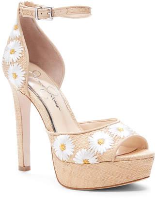 Jessica Simpson Beeya Two-Piece Platform Sandals, Women Shoes