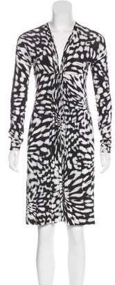 Just Cavalli Patterned Mini Dress
