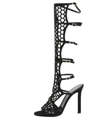 Tamara Mellon Black Suede Boots