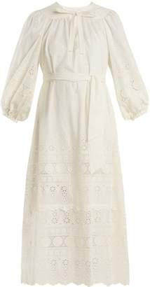 Zimmermann Kali broderie-anglaise cotton dress