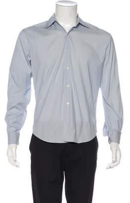 Barneys New York Barney's New York Striped Dress Shirt