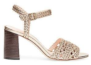 Loeffler Randall Women's Liana Woven Leather Sandals