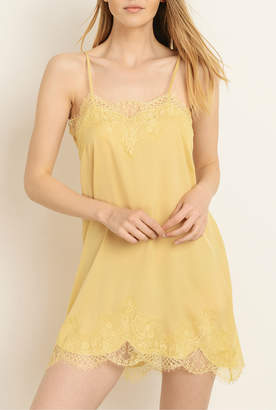 Storia Lingerie Lace Slip Dress with Adjustable Straps