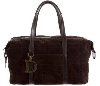 Christian Dior Cannage Suede Bag