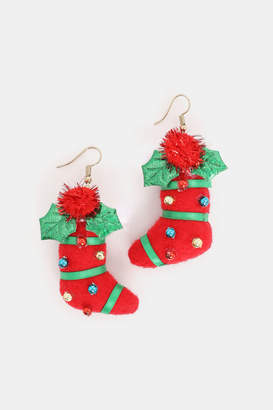 Ardene Stocking Earrings