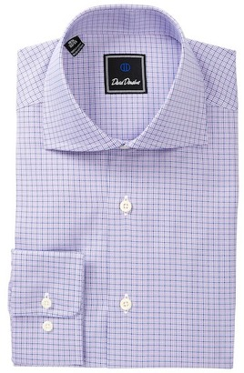David Donahue Patterned Regular Fit Dress Shirt $135 thestylecure.com