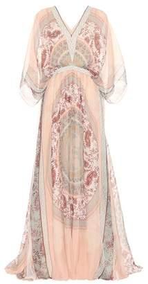 Chloé Printed silk gown