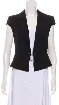 Alexander Wang Short Sleeve V-Neck Vest