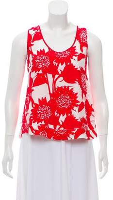 Piamita Printed Sleeveless Top w/ Tags