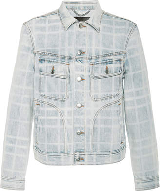 Burberry Bleached Denim Jacket