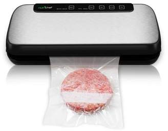 Nutrichef NutriChef Automatic Vacuum Sealer System - Electric Air Sealing Food Preserver with Stainless Steel Housing