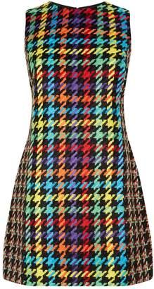 Alice + Olivia Colin Patchwork Sleeveless Dress