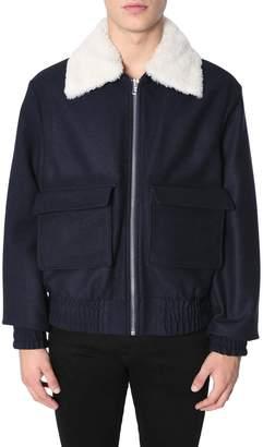 Kenzo Bomber Jacket With Detachable Collar
