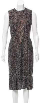 Magaschoni Bouclé Sleeveless Dress