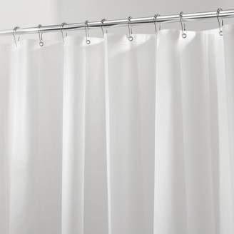 InterDesign Nell Vinyl Single Shower Curtain Liner
