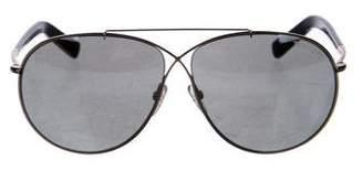 Tom Ford Oversize Metal Sunglasses