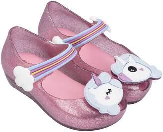 Mini Melissa Mini Ultragirl Unicorn - Pink Glitter
