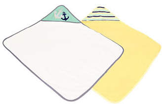 BABY'S FIRST BY NEMCOR Baby's Set of Two Hooded Towels