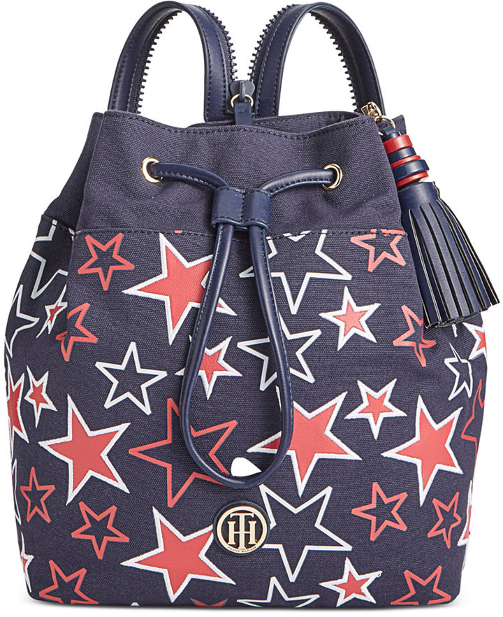 Tommy Hilfiger Summer of Love Small Sling Backpack