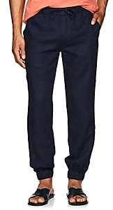 Onia Men's Rick Linen Jogger Pants-Navy