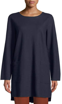 Eileen Fisher Boiled Wool Jersey Tunic