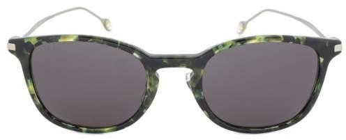 Gucci GG 1082/S K97/Y1 Sunglasses | Green Havana Frame | Dark Grey Lens