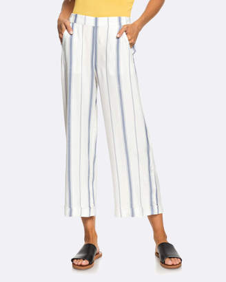 Roxy Womens Yes Captain High Waisted Wide Leg Pant
