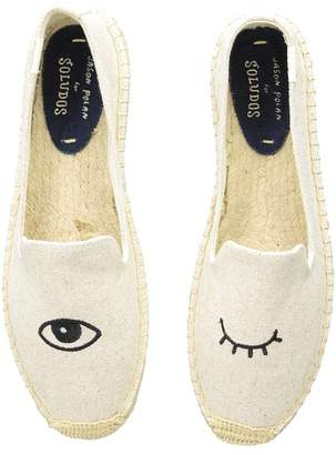 Soludos Wink Embroidery SM Slipper Women's Slip on Shoes