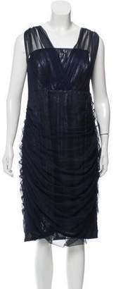 Tadashi Shoji Mesh Knee-Length Dress