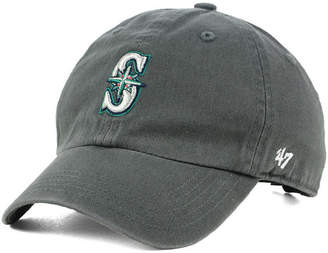'47 Boys' Seattle Mariners Charcoal Clean Up Strapback Cap