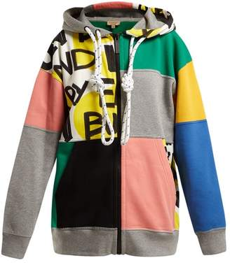 Burberry Pavna Graffiti Print Hooded Sweatshirt - Womens - Multi
