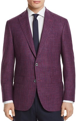 Jack Victor Check Classic Fit Sport Coat $695 thestylecure.com