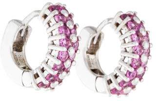Roberto Coin Sapphire Hoop Earrings