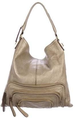 Givenchy Metallic Multi-Zip Hobo Bag