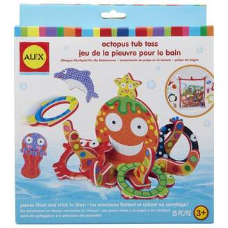 Alex Bath Ring Toss Game Octopus
