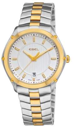 Ebel Men's 'Classic Sport' Swiss Quartz Steel and 18K Gold Casual Watch
