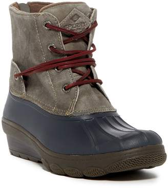 Sperry Saltwater Wedge Tide Suede Boot