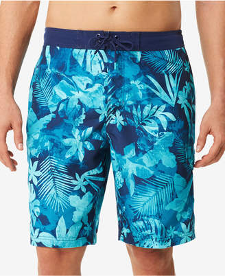 Speedo Men's Daub Floral E-Board 9'' Swim Trunks