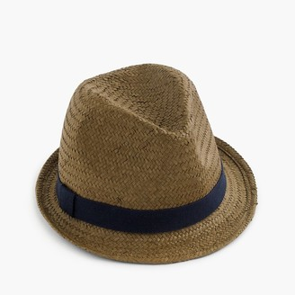 Kids' straw trilby hat $29.50 thestylecure.com