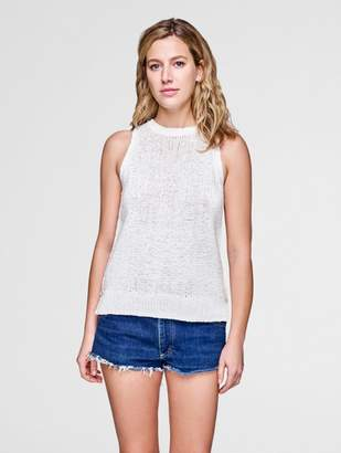 White + Warren Crewneck Knit Tank