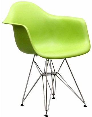 Modway Paris Dining Armchair for Indoor/Outdoor Use, Multiple Colors