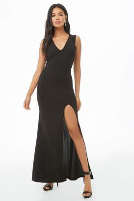 Forever 21 Cutout-Back Maxi Dress