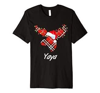 Plaid Reindeer Sleep Shirt Matching Pajama Family Photo