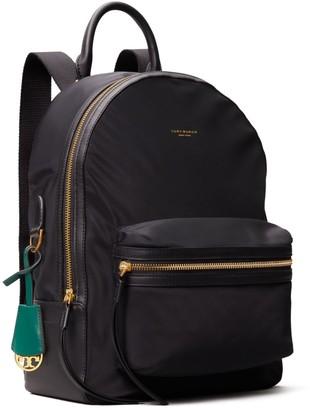 Perry Nylon Zip Backpack