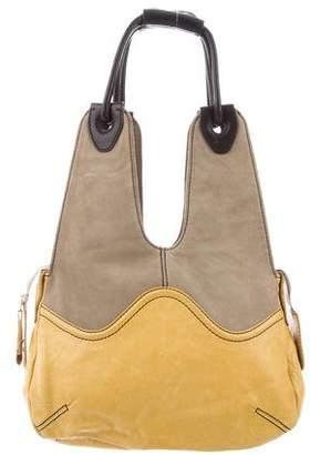 Mayle Suede & Leather Hobo Bag