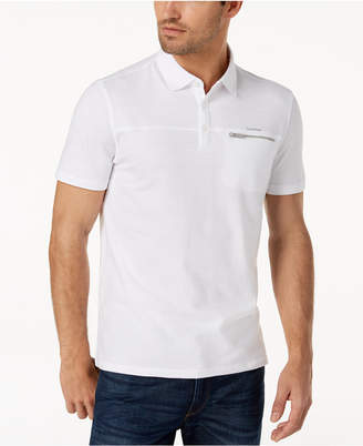 Calvin Klein Men's Zip-Pocket Polo
