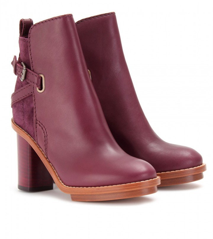 Acne CYPRESS ANKLE BOOTS
